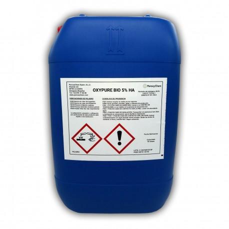 Solución Desinfectante de Peróxido de Hidrógeno y Agua Oxigenada | Oxypure Industria Alimentaria