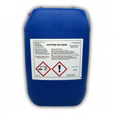 Solución de Agua Oxigenada para el Tratamiento del Agua de Consumo | Oxypure 902 en 30 Kg.