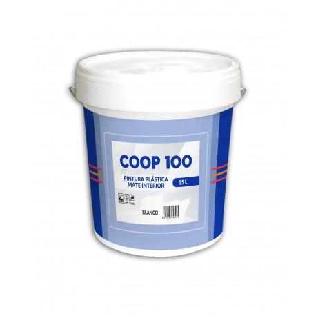 Pintura Blanca Mate Coop-100 15L. | Especial Cooperativas