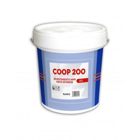 Revestimiento Mate Blanco Antimoho AMH Coop-200 15L.   Especial Cooperativas