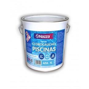 Pintura Piscina Azul Clorocaucho Nazza