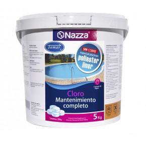 Cloro para mantenimiento completo del agua de la piscina