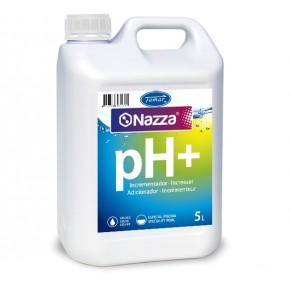 Incrementador pH líquido Nazza para piscinas 5 Litros