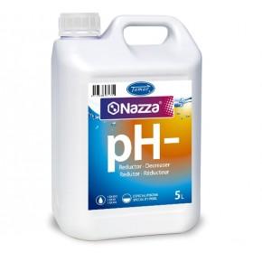 Decremento pH líquido piscina Nazza