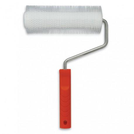 Rodillo Aireador de polietileno para resina epoxi y poliester