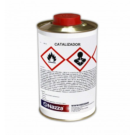 Catalizador para Resina de Poliuretano Transparente de Alta Resistencia 1 Litro