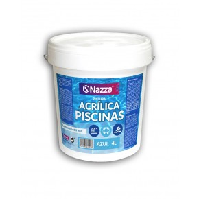 Pintura piscina azul acrílica al agua Nazza