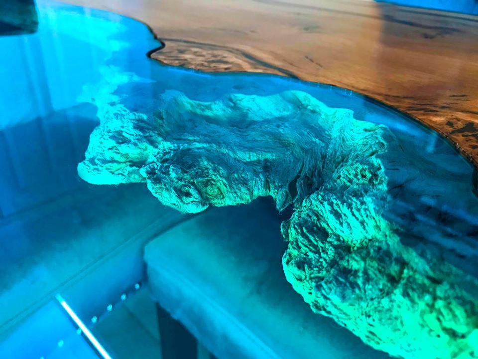 Resina Epoxi Cristal Alto Espesor