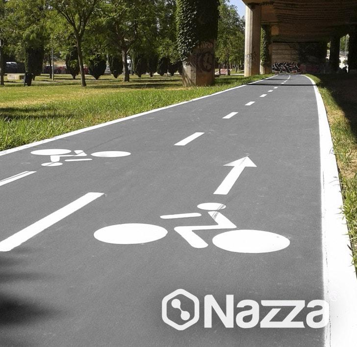 Pintura para carril bici