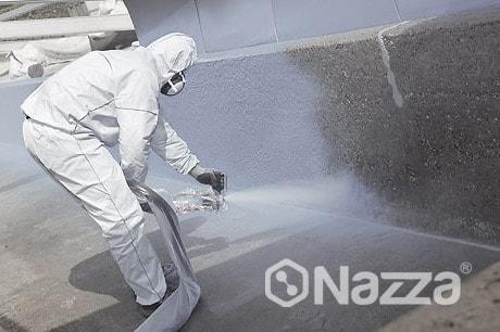 Poliurea en frío Nazza protección de cubiertas Rayos UV