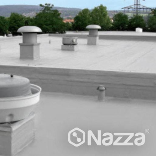 Poliurea para impermeabilización y protección de cubiertas Nazza