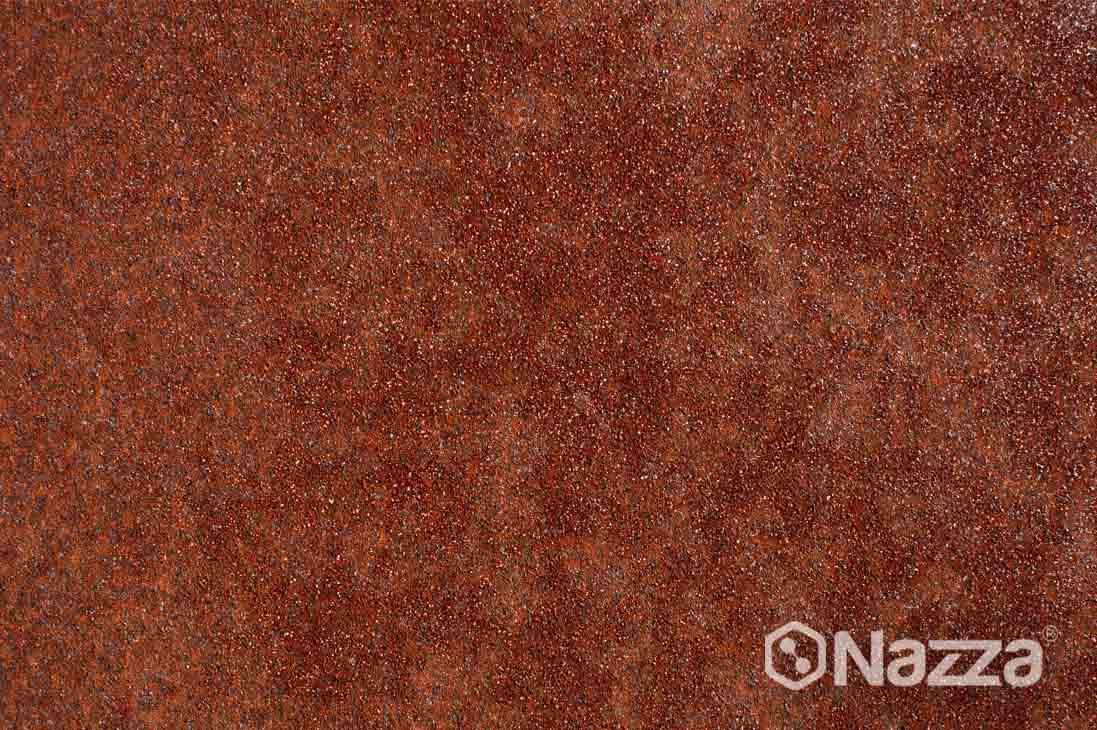 Efecto oxidado sobre acero corten