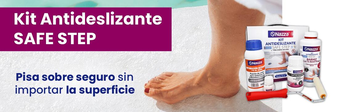 Kit Barniz Antideslizante para Duchas Nazza Safe Step