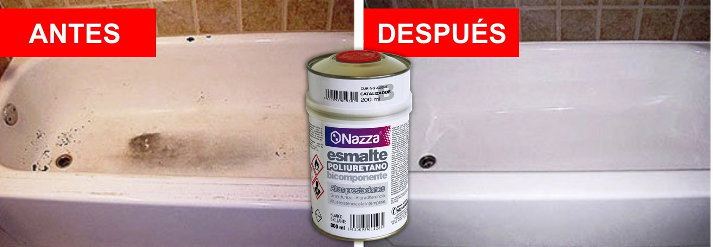 Esmalta tu bañera con Naza