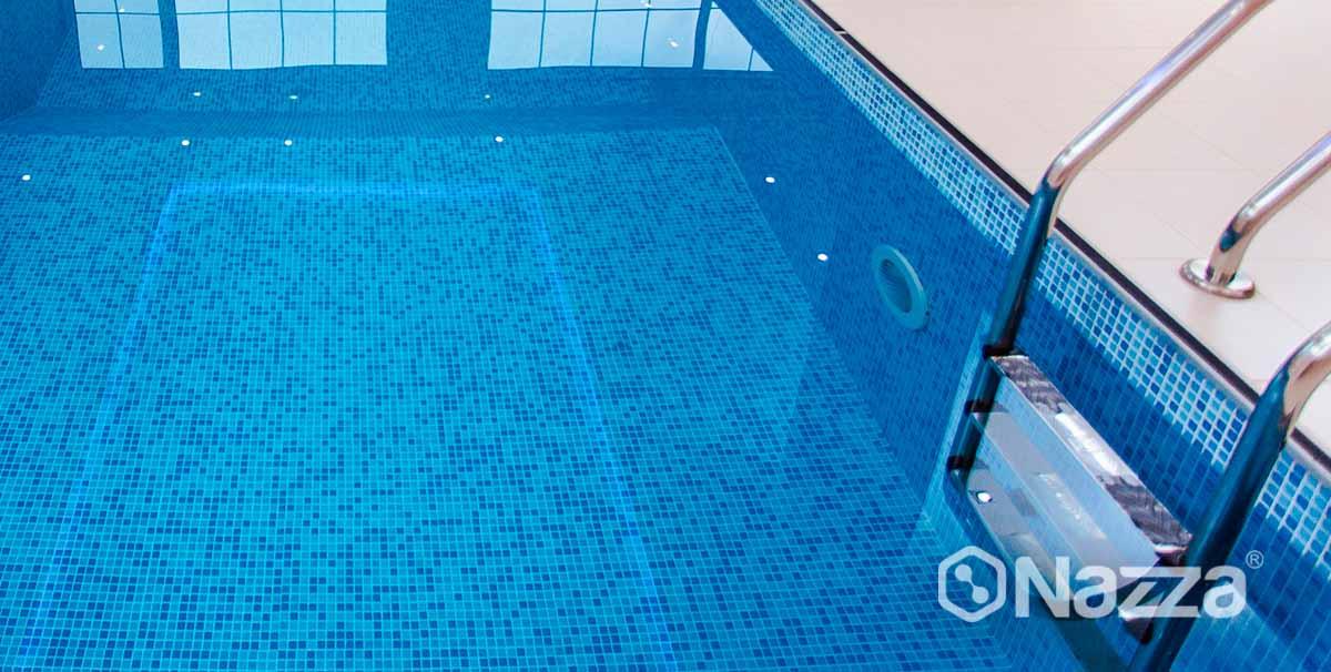 Sellar fugas piscina de gresite