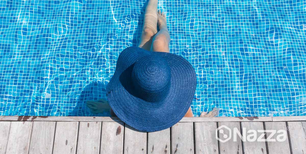 piscina cristalina usando floculante liquido