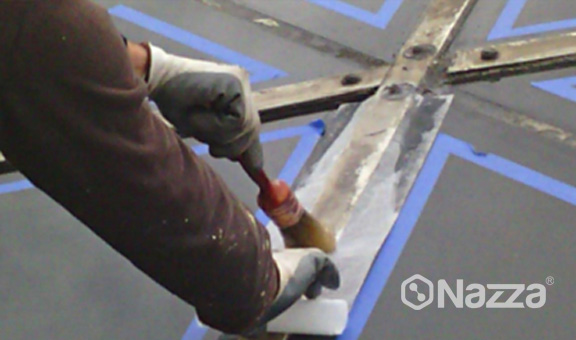 Imperemeabilización vidrieras aeropuerto Barcelona Nazza