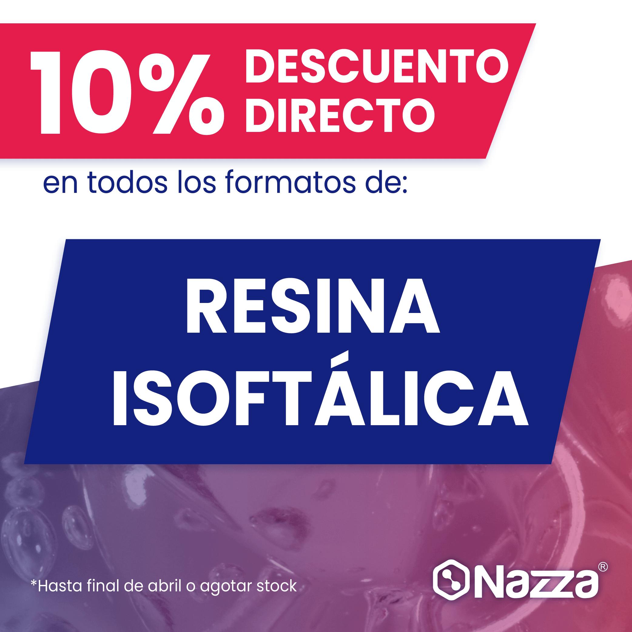-10% en resina isoftálica