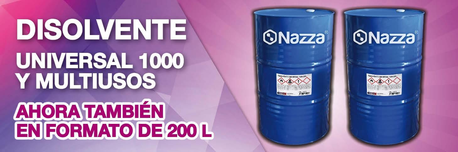 Disolventes Nazza 200 L